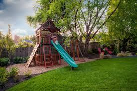 Backyard Swing Set Ideas Amazing Of Backyard Swing Set Ideas Small Backyard Playset Home