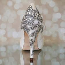 wedding shoes toe ivory platform peep toe wedding shoes with applique