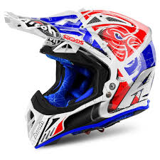 motocross helmets 2018 airoh aviator 2 2 motocross helmet six days red limited