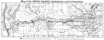 Union Pacific Route Map by Native History How Natives Got Railroaded By The Medicine Lodge