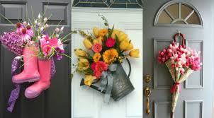 creative front door decor ideas except wreath tingtau