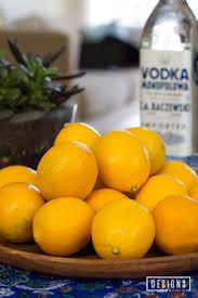 meyer lemon limoncello designs of any kind