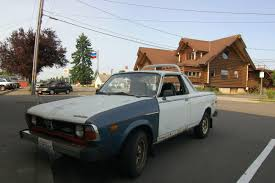 subaru brat custom old parked cars october 2014