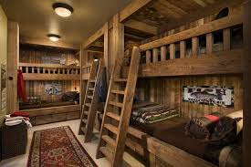 Cabin Bunk Beds Log Cabin Bunk Beds Custom Home Tips Charming Or Other Log Cabin