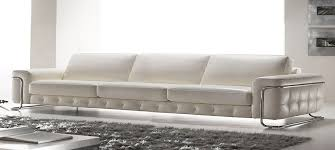 Italian Leather Sofa Stargate By Calia Maddalena - 4 seat leather sofa