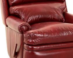 Red Leather Chair Red Leather Recliiner American Made Classic Club Recliner Cl714
