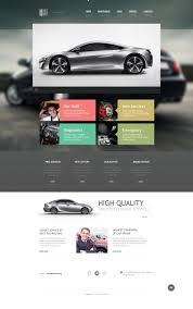 car repair responsive website template 46252