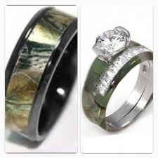 camo wedding rings his and hers camo wedding ring sets his and hers in 1000 images about camo