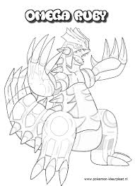 groudon coloring pages primal groudon coloring page omega ru and
