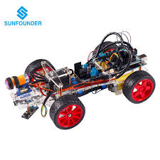Seeking Robot Sunfounder Smart Car Kit For Arduino Uno R3 Electronic Diy
