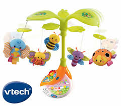baby crib lights toys vtech baby sing soothe light up crib mobile with sound sensor