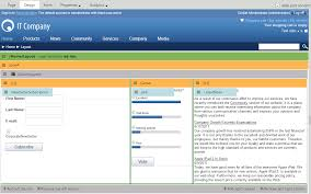 layout web portal working with layout web parts kentico 10 documentation