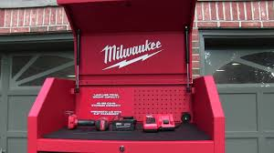 Milwaukee Cabinet Milwaukee 30 Inch 12 Drawer Cabinet And Chest Youtube