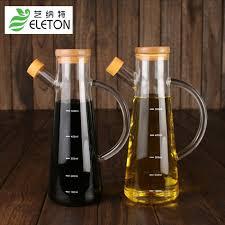 fourniture de cuisine eleton 2017 à la mode bore silicium verre graisseur de sésame huile