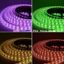 smd led strip light dc12v rgbw rgbww 5050 smd led strip light 60led m 4 colors in 1