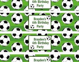 soccer wrapping paper soccer drink labels etsy