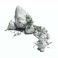 rocks 141 am126 max c4d obj fbx 3d model evermotion