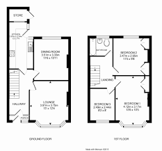3 bedroom terraced house for sale in jean road brislington floorplans floorplan of 3 bedroom terraced house for sale