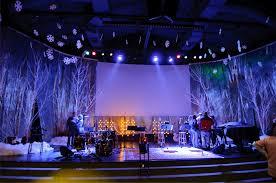 church stage designs to show unique hardscape design