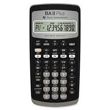 calculator sle size amazon com texas instruments ba ii plus financial calculator