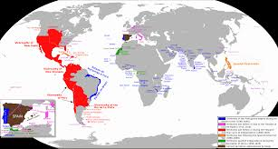Spain World Map by Historical Maps By Chapter
