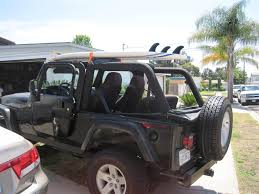 jeep liberty roof rack surf rack jeep wrangler forum