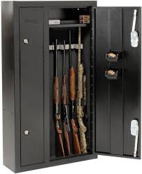 stack on 10 gun double door cabinet homak hs30136028 8 gun double door steel security cabinet ebay