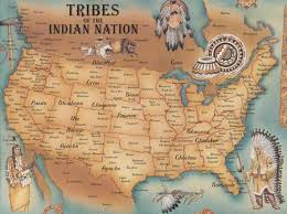 Map Of Northern America list and maps of native american tribes native american tribes