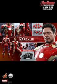 Tony Stark Toys 1 4 Avengers Age Of Ultron Mk43 Mark Xliii Iron Man Tony