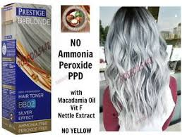 silver blonde color hair toner bb2 silver effect hair toner blonde bleached grey no ammonia