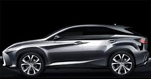 lexus 2016 rx 2016 lexus rx sketch 1 transport sketches car