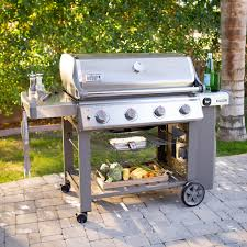 Backyard Grill 4 Burner Gas Grill by Weber Spirit E 310 Lp Gas Grill Hayneedle