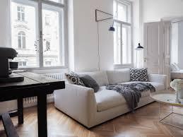 Wohnzimmer Altbau Altbau Wohnzimmer Fischgrätparkett Traumzuhause White Linen Couch