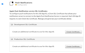 Ssl Certificates Title Push Notifications Tutorial Getting Started