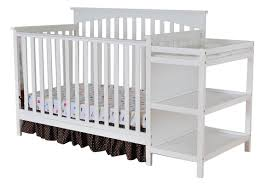 Sorelle Tuscany 4 In 1 Convertible Crib And Changer Combo by Dream On Me Chloe 4 In 1 Convertible Crib With Changer Combo