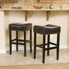 Height Of Stools For Kitchen by Finding Kitchen Backless Counter Height Stools Bedroom Ideas And