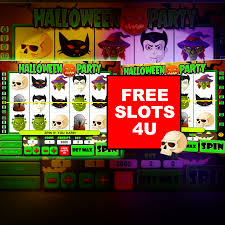 free halloween party slot machine game by free slots 4u