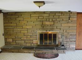 fireplace cool painted stone fireplace home design great modern with interior design trends cool painted