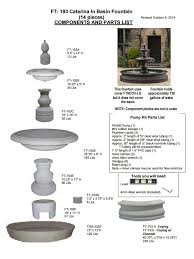 l with water fountain base caterina outdoor water fountain in basin jpg v 1509946147