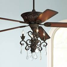 Chandelier Ceiling Fans With Lights Casa Contessa Bronze Chandelier Ceiling Fan 55878 56255
