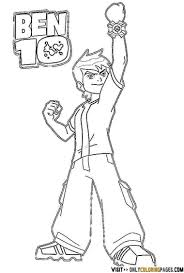 ben coloring pages alric coloring pages