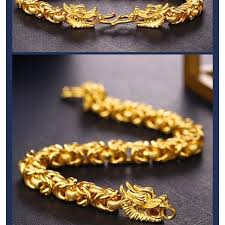 dragon bracelet gold images 18k gold dragon bracelet luxury accessories on carousell jpg
