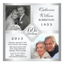 60th wedding anniversary invitations 60th wedding anniversary invitations announcements zazzle canada