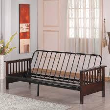 furniture wooden futon with mattress queen futon frame