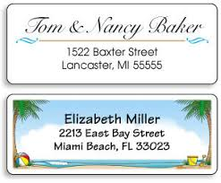 best return address labels many unique options to personalize