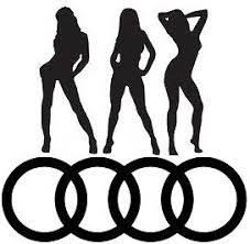 audi rings audi rings logo vinyl car sticker graphics decals
