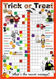halloween puzzle games halloween crossword puzzle worksheet free esl printable