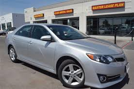 2013 used toyota camry se at master lease plan inc serving las