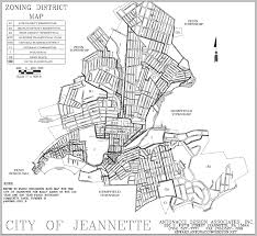 Ord Map Ord Zoning City Of Jeannette