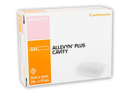 smith and nephew allevyn plus cavity non adhesive foam dressing